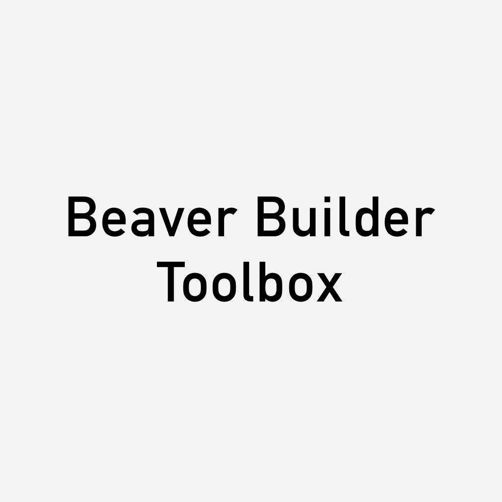 beaverbuilder toolbox