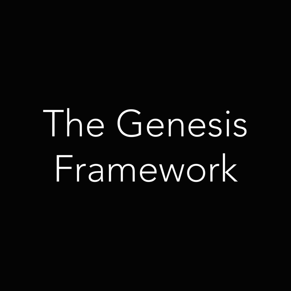 the genesis framework@2x