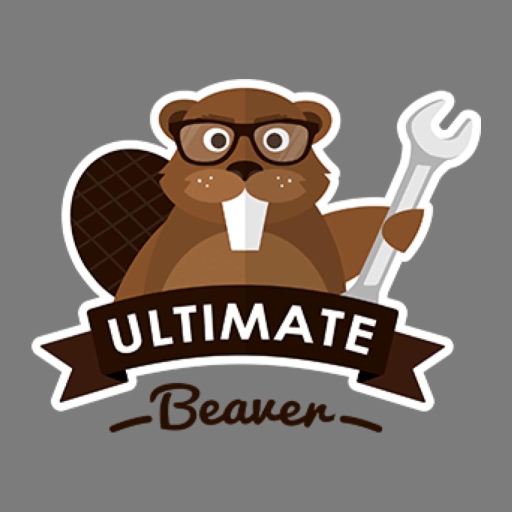 ultimate beaver logo