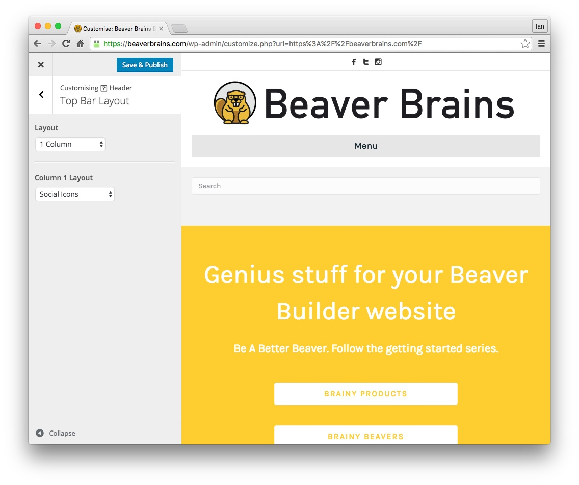 beaver builder font awesome social icons 02