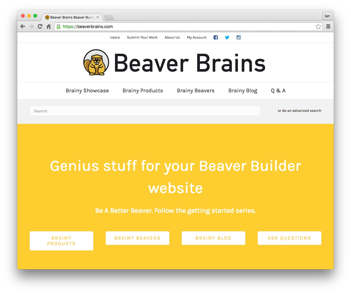 beaver builder font awesome social icons 04
