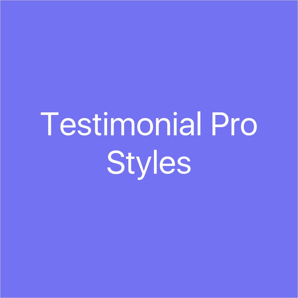 testimonial pro styles logo@2x