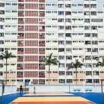 Each apartment has a unique and special view of the playing field