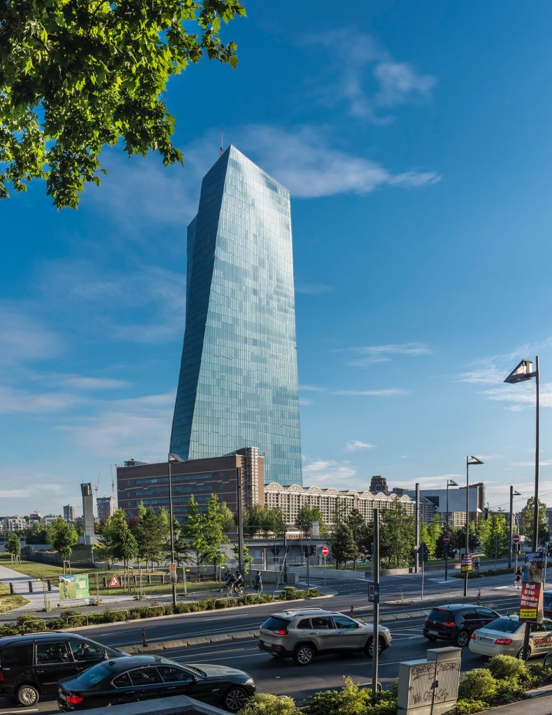 Glass dominates architecture today allowing giant building to feel less obtrusive