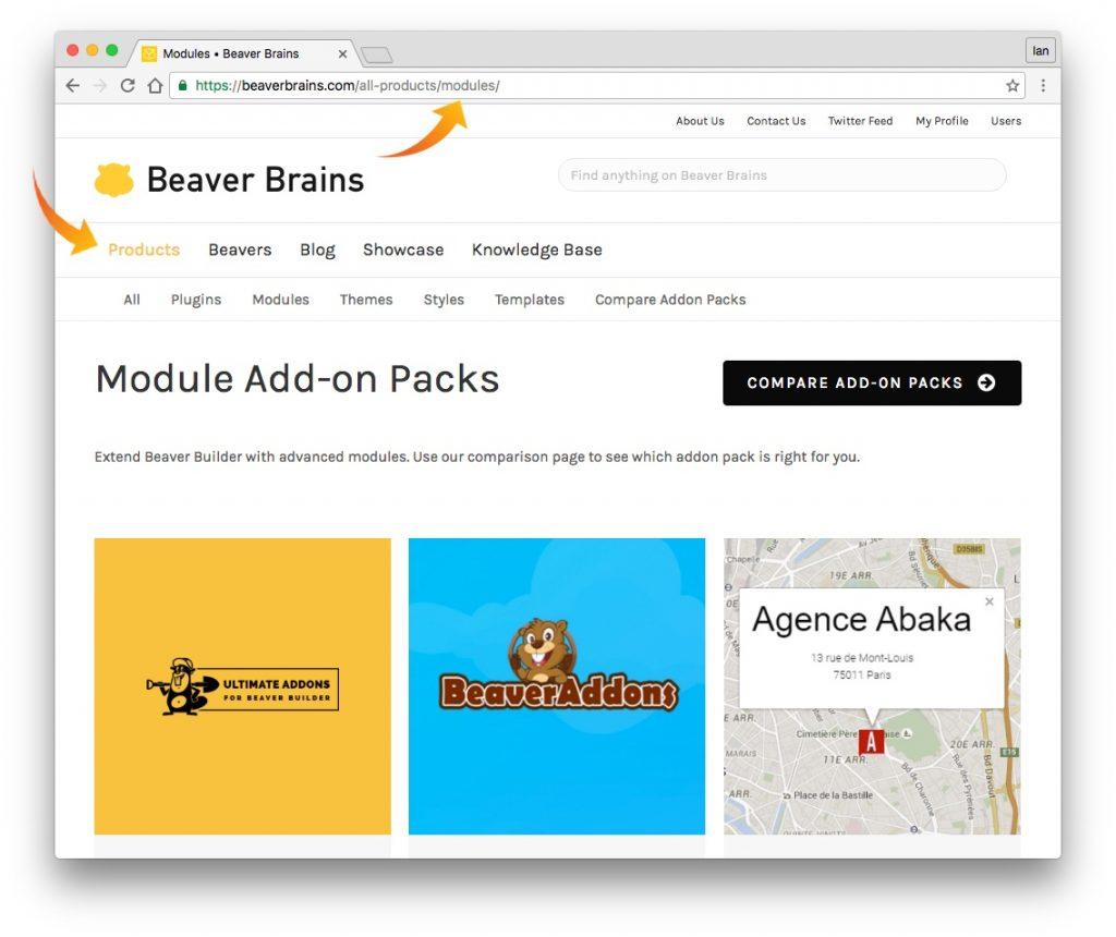 module-page