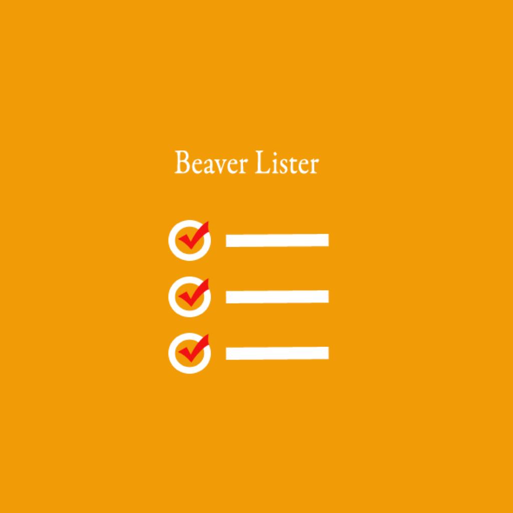 beaver-lister