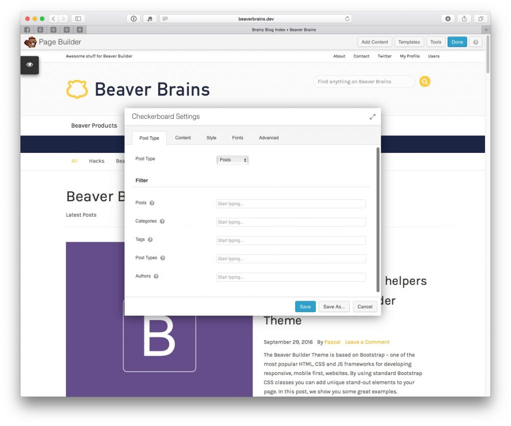checkerboard-module-for-beaver-builder-post-type-tab