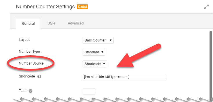 view of the settings of the customized beaver builder module