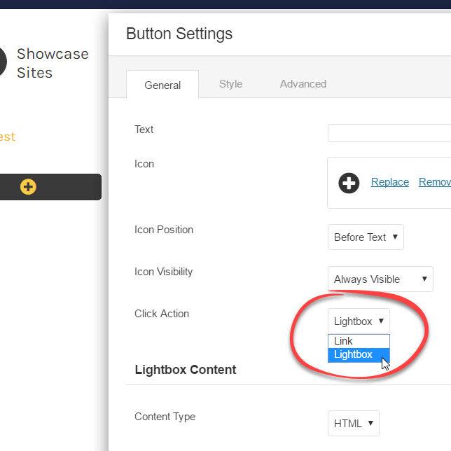 button-lightbox